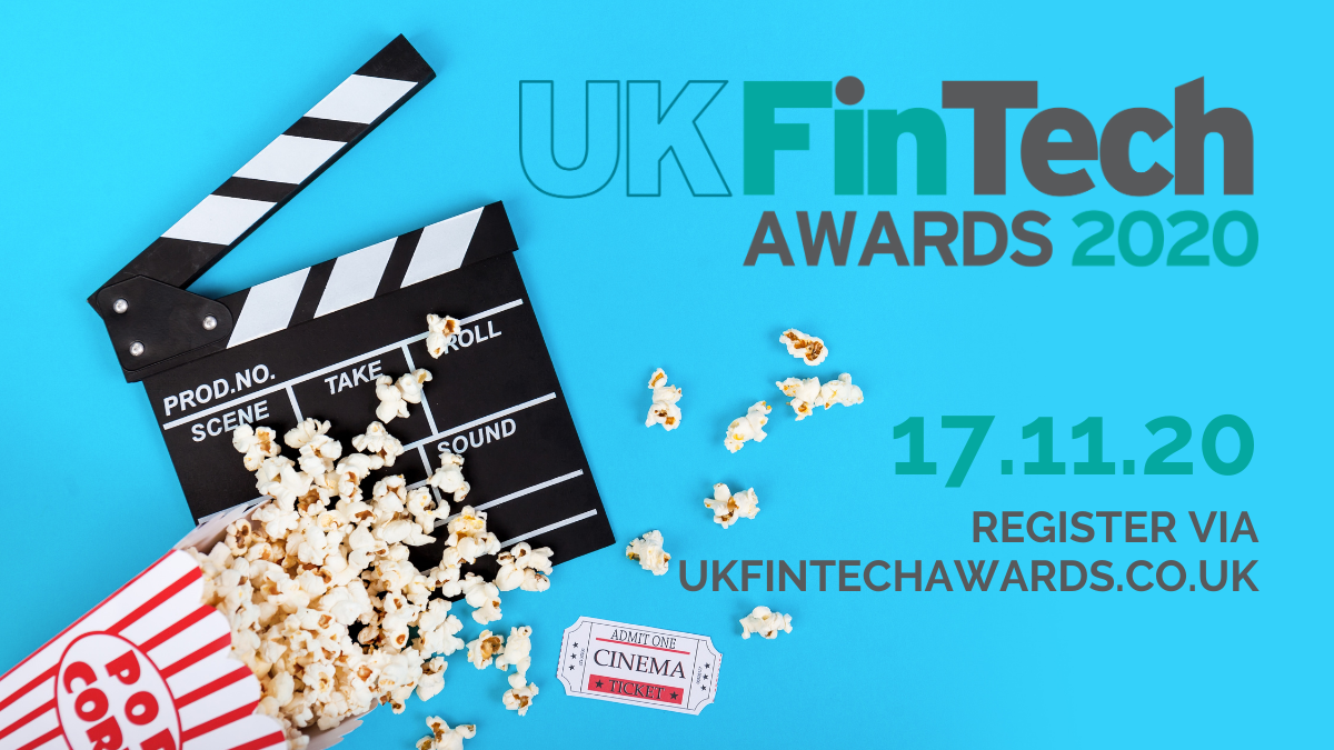 UK FinTech Awards 2020 - Register to watch